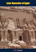 Boek cover Later Dynasties of Egypt van P. G. Elgood
