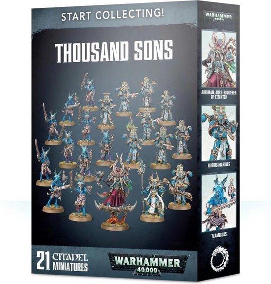 Afbeelding van het spel Warhammer 40.000 Start Collecting! Thousand Sons