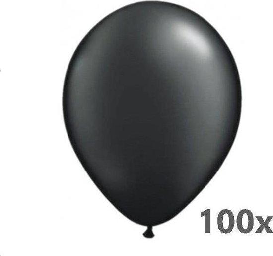 Belbal B105 - Ballonnen zwart 40 cm (100 stuks)