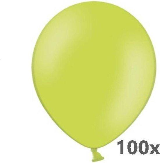 Belbal - Ballonnen - B105 - Appelgroen - 100st.