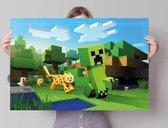 REINDERS Minecraft - Poster - 91,5x61cm