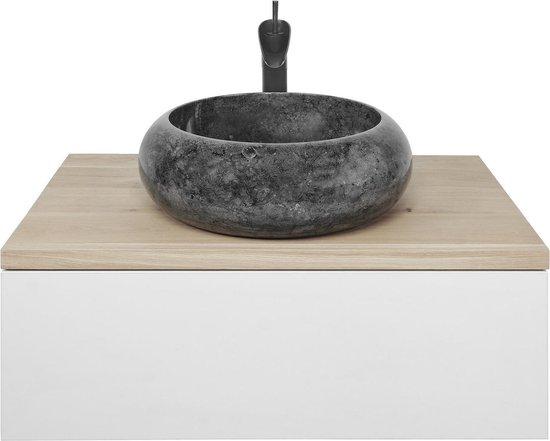 Marmeren Waskom Donut | 45x15