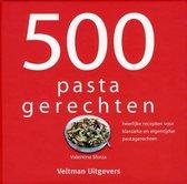 Boek cover 500 pastagerechten van Valentina Sforza (Hardcover)
