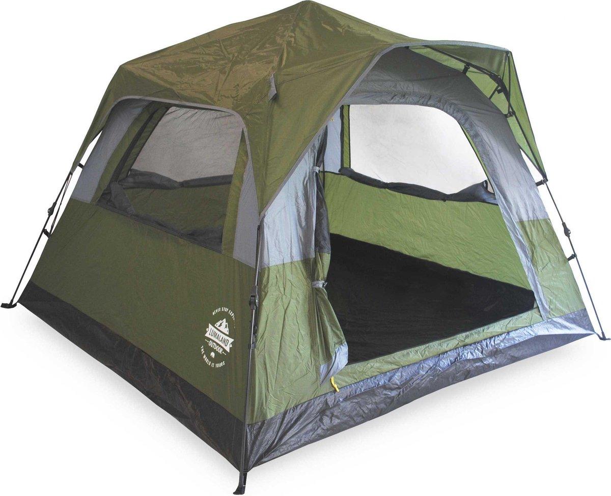 vidaXL Tent pop up 2 persoons camouflage   vidaXL.nl