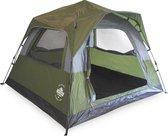 Lumaland - Comfort Pop Up Tent - 3 persoons werptent -  Outdoor geschikt voor camping/festival -  210x210 x140 cm - Groen
