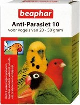 Beaphar Anti-Parasiet 10 Vogel (20-50gr) - 2 PIP