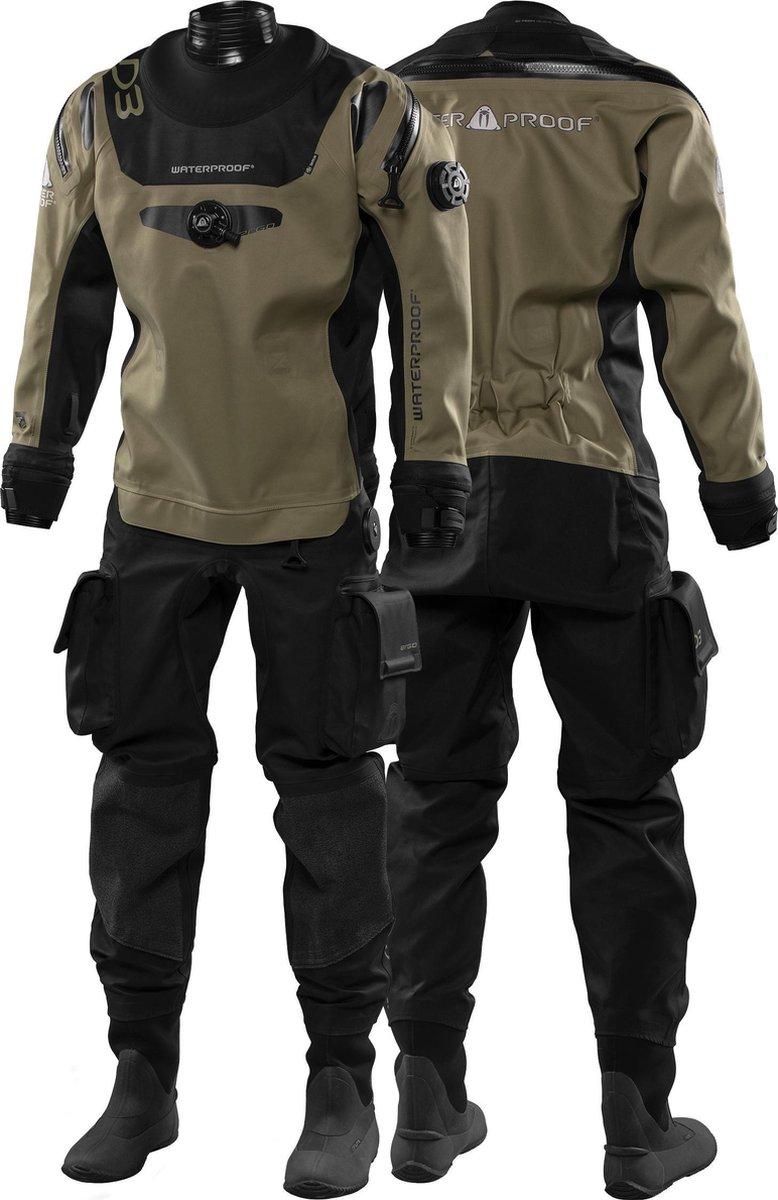 Waterproof drysuit D3 Trilaminaat Droogpak Heren