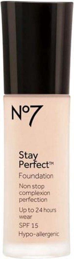 No7 Stay Perfect Foundation Cool Vanilla SPF15