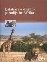 Omslag Expeditie dierenwereld kalahari, dierenparadijs in Afrika