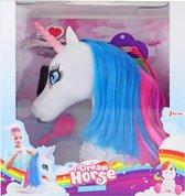 Toi-toys Kaphoofd Eenhoorn Met Accessoires 20 Cm