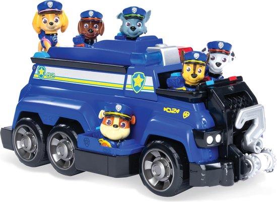 Afbeelding van PAW Patrol Total Team Chase Politie Voertuig met 6 Figuren