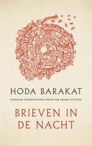 Boek cover Brieven in de nacht van Hoda Barakat