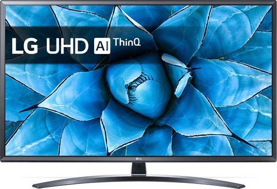 LG 43UN74006LB 109,2 cm (43'') 4K Ultra HD Smart TV Wi-Fi Zwart