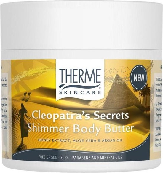 Therme Cleopatra's Secrets Shimmer Body Butter 250gr