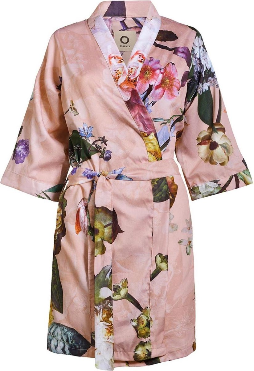 Essenza Dames Nachtmode kimono S - Rose
