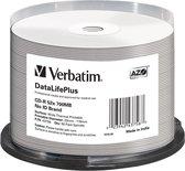 Verbatim CD-R AZO 700MB 52X SP THERMAL PRINTABLE - Rohling