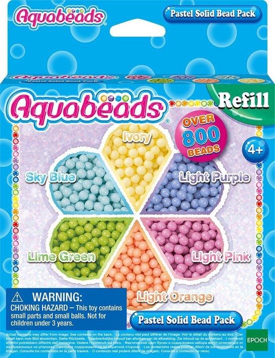 Aquabeads Navulling parels pastel 31360 - Hobbypakket