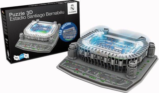 Real Madrid LED 3D puzzel Santiago Bernabeu - 160 stukjes