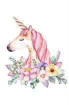 Diamond Painting Unicorn Roze – 15 cm x 10 cm – Zelf Schilderijen Maken – Voor Jong & Oud – Kleuren