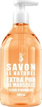 Savon Le Naturel Savon Vloeibare Natuurlijk Handzeep - Oranjebloesem - 500ml