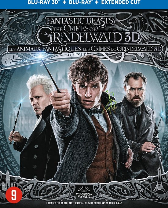 Fantastic Beasts 2 - The Crimes Of Grindelwald (3D+2D Blu-ray)