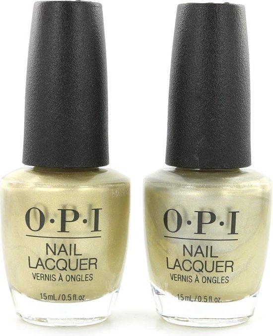 O.P.I Nagellak - Gift Of Gold Never Gets Old (2 Stuks)