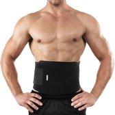 Bracoo SE20 Fitness Gordel - sauna zweetband - buikstabilisator en tailletrainer - één maat