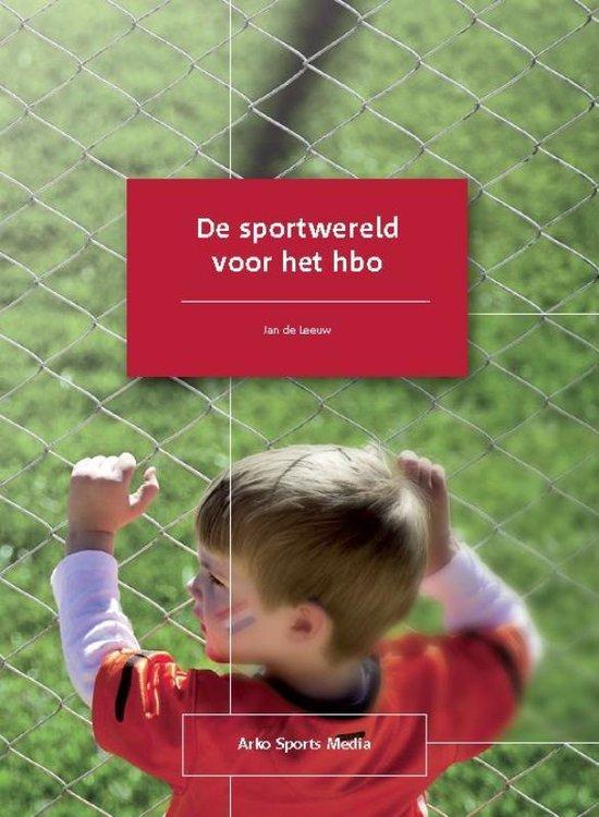 De sportwereld voor het hbo - Jan de Leeuw pdf epub