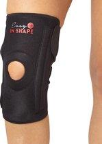 Easy in Shape Knie ondersteuningsband   Knieband   Knie Brace   Neopreen   Zwart
