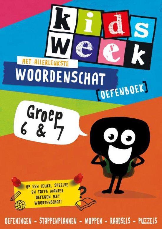 Het allerleukste woordenschat oefenboek - Kidsweek in de Klas groep 6 & 7 - Kidsweek | Readingchampions.org.uk