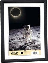 """ZEP Kunststof Fotolijst """"New Easy"""" - Zwart - 40x50 cm"""