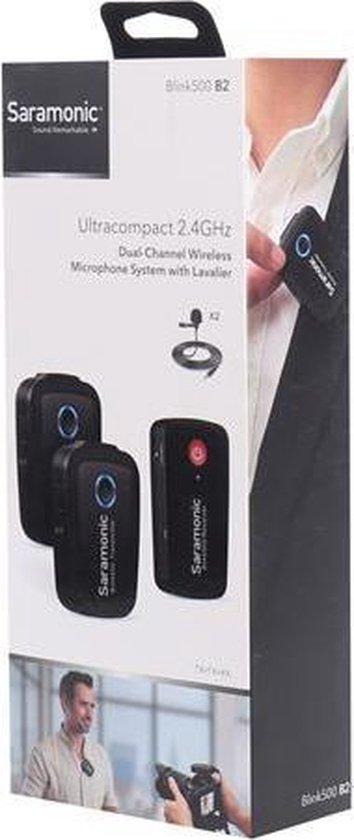 Saramonic Blink 500 B2 Duo Lavalier Microfoon Draadloos