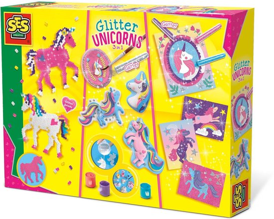 Glitter Unicorns 3 In 1 – Speelgoed (8710341147198)