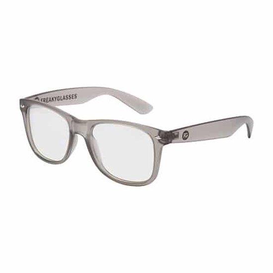 ®   Deluxe spacebril spiraal   mat grijs