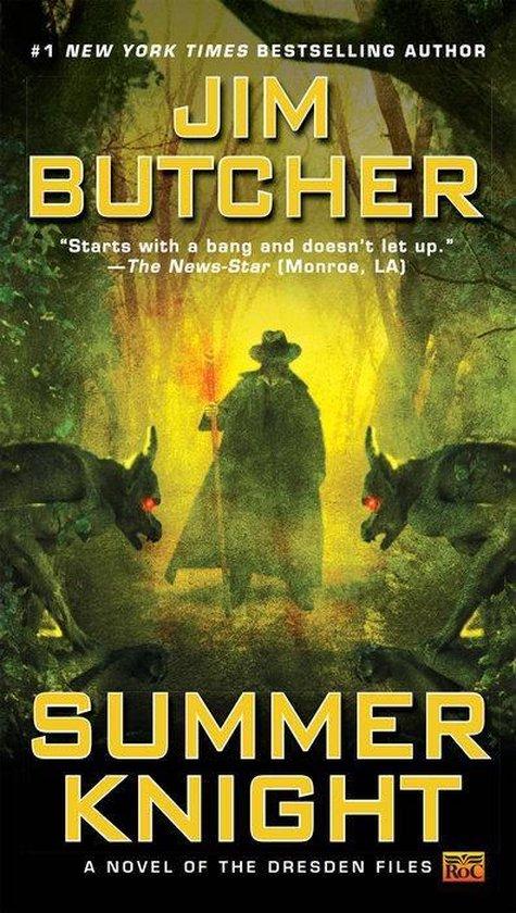 Boek cover Summer Knight van Jim Butcher (Paperback)