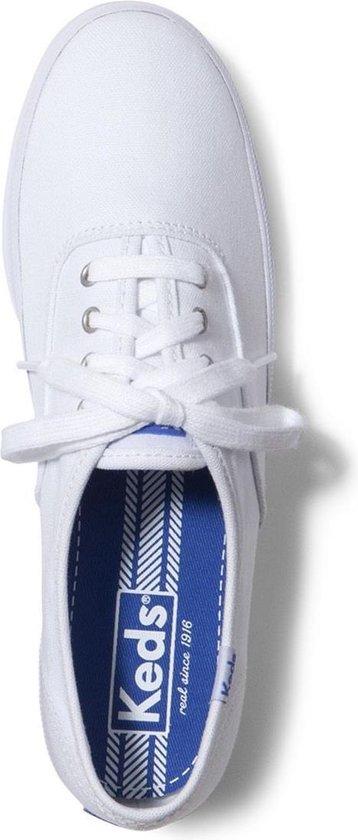 Dames schoenen   Champion CVO Core Canvas White Dames Veterschoenen