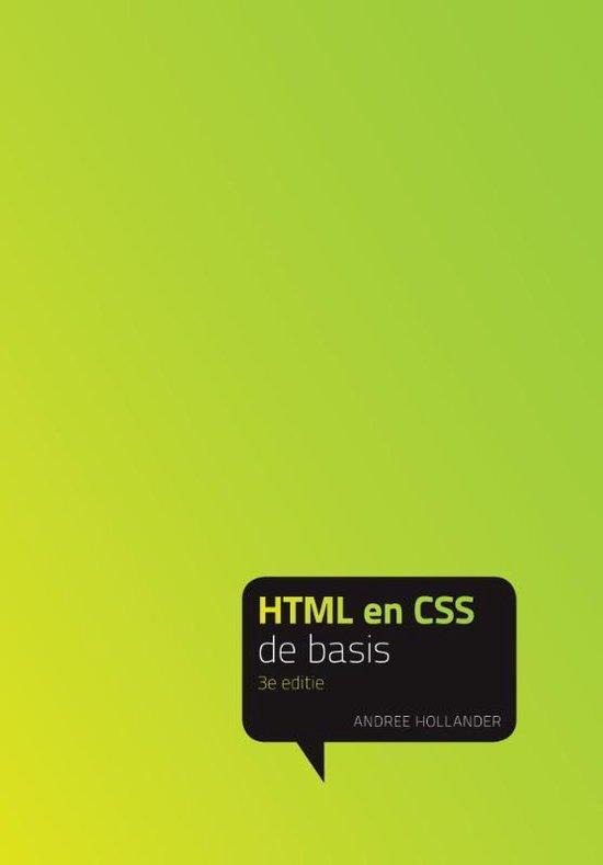 HTML en CSS - Andree Hollander |