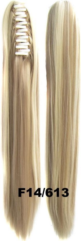 Brazilian Paardenstaart, Ponytail extensions straight – blond F14/613