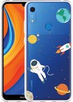 Huawei Y6s Hoesje Astronaut