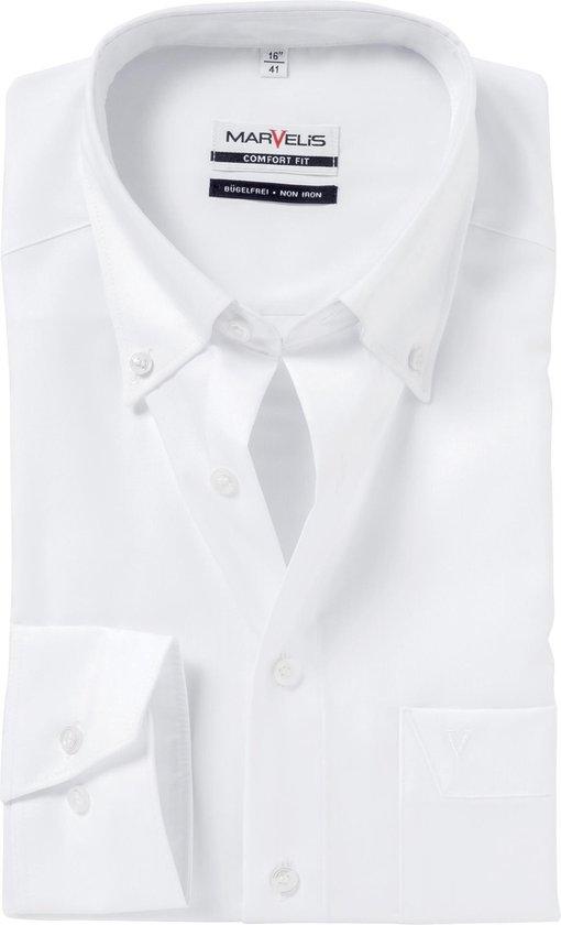 Marvelis Wijd (niet getailleerd) Heren Overhemd L