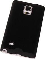 Wicked Narwal | Lichte Aluminium Hardcase voor Samsung Galaxy Note 4 Zwart