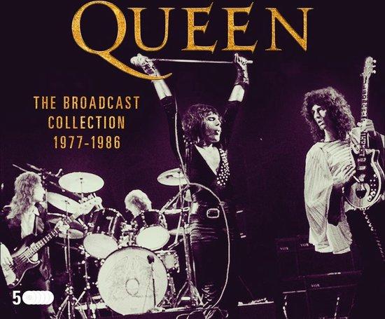 CD cover van The Broadcast Collection 1965 van Queen