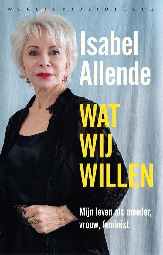 Boek cover Wat wij willen van Isabel Allende (Paperback)
