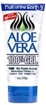 Fruit Of the Earth Aloe Vera 100% Gel - 177 ml