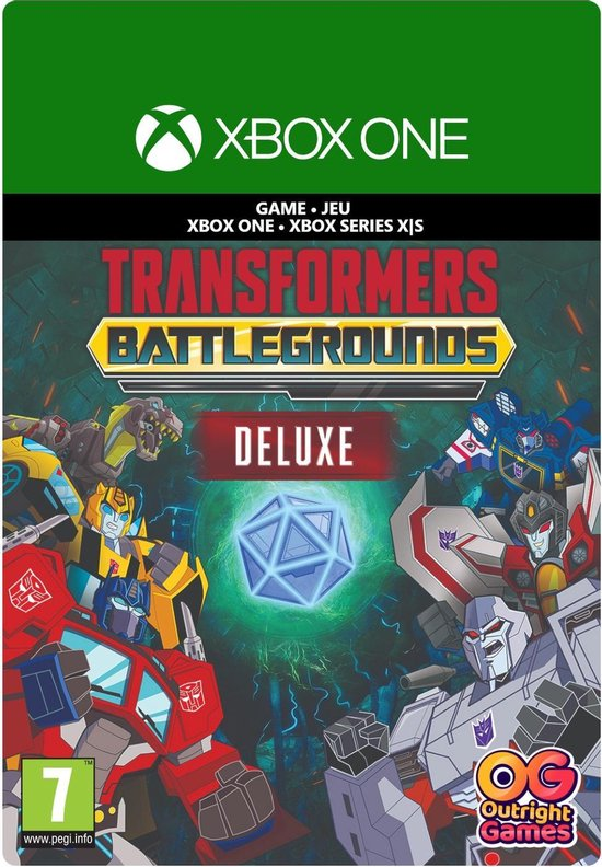 Transformers: Battlegrounds Digital Deluxe Edition – Xbox One/Plays on Xbox Series X Download