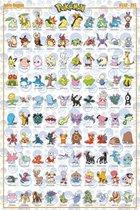 GBeye Pokemon Johto Pokemon Poster 61x91,5cm