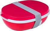 Mepal Ellipse Duo Lunchpot - Lunchbox volwassenen - 1.4 Nordic Red