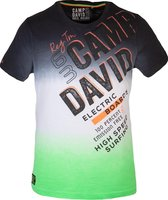 Camp David ® Dip Dye T-shirt met ronde hals en print