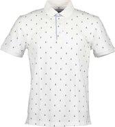 Blue Seven Korte mouw Polo shirt - 321094 Polo Wit (Maat: XXXL)