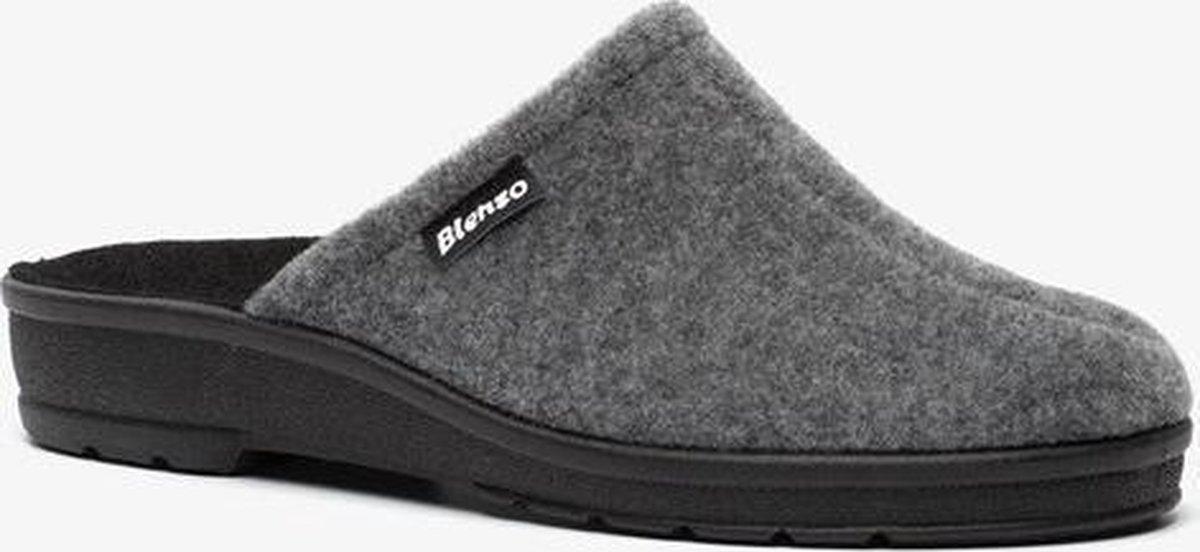 Blenzo dames pantoffels - Grijs - Maat 40